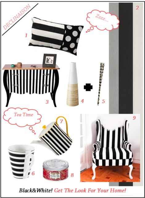 Déclinaison • Ma sélection shopping Déco
