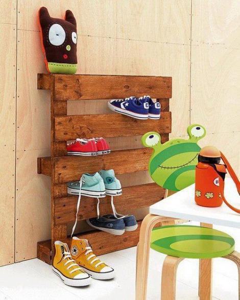 Photo: meuble pour chaussures
