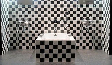 Salle de bain de l'hôtel Morgans, NYC - Crédit DR