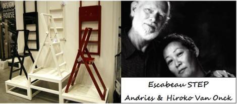 Escabeau Step - Andries & Hiroko Van Onck