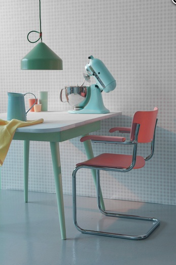 Fifties pastel kitchen - www.trendland.com