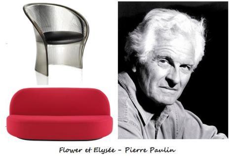 Flower et Elysée - Pierre Paulin