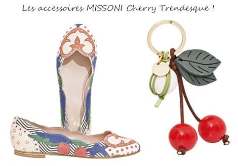 "Extrait ""Cherry Trendy"" Collection Printemps-Eté 2013 Femme MISSONI"
