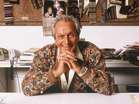 Ottavio Missoni, le créateur de la griffe
