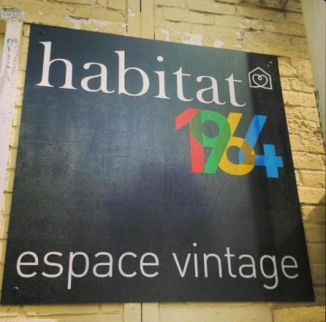 Habitat 1964 Espace Vintage